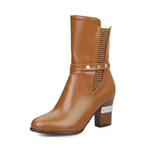 1TO9 Zapatilla Alta Mujer marrón