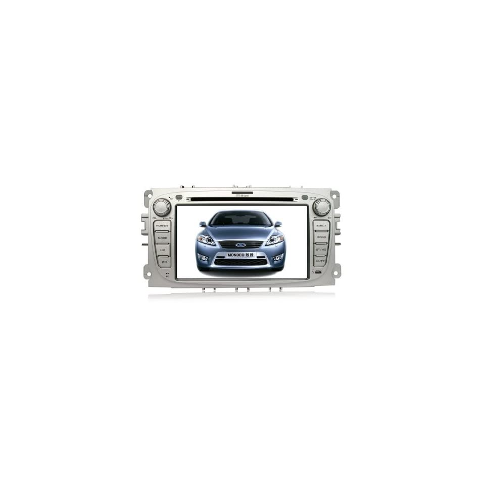 Eagle for 2008 2011 Ford Focus Car GPS Navigation DVD Player Audio Video System with Radio (AM/FM),Bluetooth Hands Free,USB, AUX Input,(free Map),Plug & Play Installation