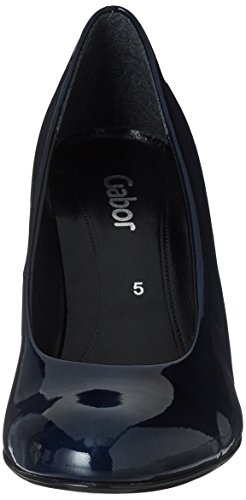 Gabor Women's Basic Closed Toe Heels Blue (78 Marine 78) mLridB