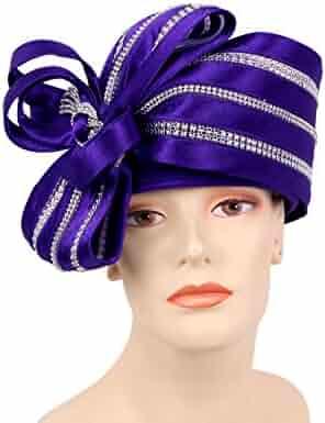 0be83d4e0fc26 Ms Divine Women s Satin Year Round Pillbox Church Derby Dress Formal Hats   HL011