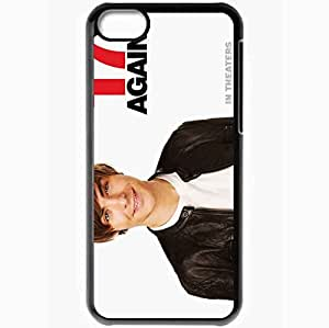 Personalized iPhone 5C Cell phone Case/Cover Skin 17 Again Black