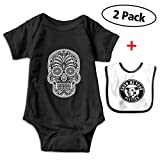 Best Buds T Shirt Sets - Brent Cartere Sugar Skull Unique Baby Romper Bodysuit Review