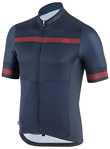(Louis Garneau Men's Art Factory Cycling Jersey, Geometry, Large)