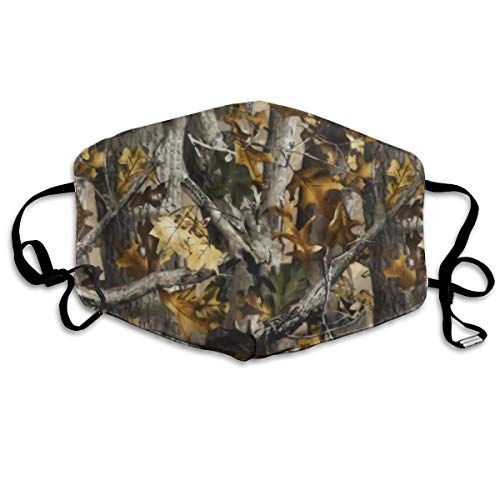NOT Realtree Dust Mouth Mask Anti-Dust Mask Adjustable Earloop Face Mask Can Be Washed