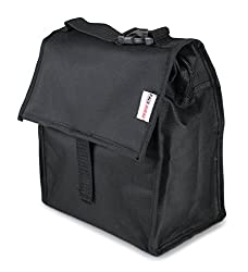 Pack Ahead Freezable Lunch Bag - Foldable, Reusable With Built In Ice Packs