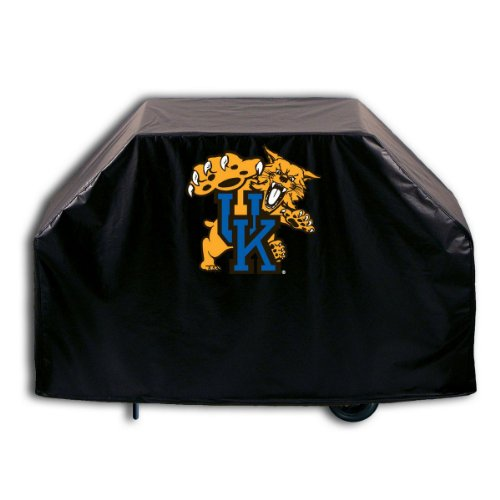 University of Kentucky Grill Cover with Cat logo on stylish Black Vinyl by Covers by HBS ()