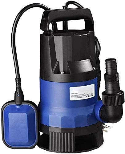 1//2HP 2000GPH  Professional Series Submersible Sump Pump Water Flooding Pond