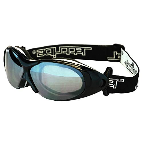 Black Spark Sunglasses Floating Water Jet Ski Goggles Sport Designed for Kite Boarding, Surfer, Kayak, Jetskiing, Other Water Sports.