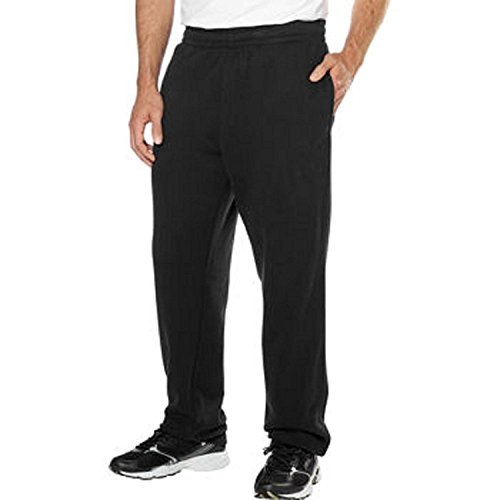 Fila® Mens Fleece Pant-Black, Medium