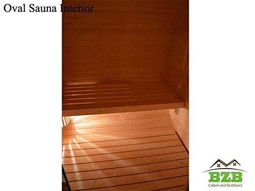 BZBCabins.com Oval Sauna Kit ...