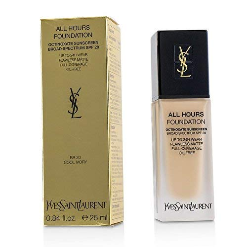 Yves Saint Laurent All Hours Foundation SPF 20, Br20 Cool Ivory, 0.84 Ounce