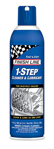 Finish Line 1 Step Cleaner And Lubricant  17 Ounce