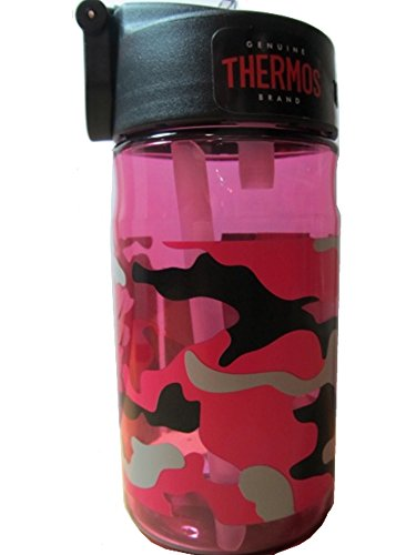 Thermos 12 Camo Pink Hydration Bottle