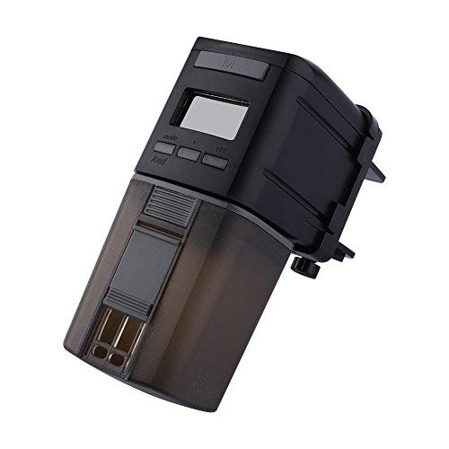 Mini contador de tiempo automático de la alimentación del LCD del alimentador de la comida del tanque de pescados del...