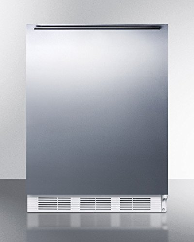 Ada Compliant Built-in Undercounter Refrigerator-freezer With STAIN...