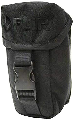 FLIR 4132304 Black MOLLE Camera Holster, Backpack/Belt for Scout II and LS Series Thermal Imaging Cameras, 2 Snap Button MOLLE Straps for Threading, Soft Cloth Compartment by FLIR