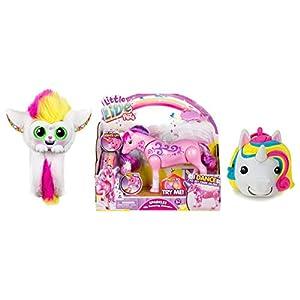Mojimoto Little Live Wrapples – UNA, Sparkles My Dancing Unicorn, Unicorn Repeating Talk Back Toy