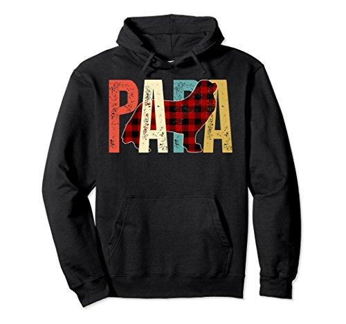 Cavalier Black Sweatshirt (Unisex Papa Cavalier Hoodie Gifts For Cavalier Lovers Medium Black)