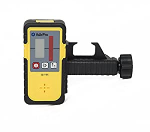 AdirPro 790-01 LD-8 Universal Rotary Laser Receiver Detector with Rod Clamp