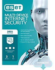 $39 » ESET Multi-Device Internet Security   2021 Edition   3 Devices   1 Year   Antivirus Software   Parental Control   Privacy   IOT Protection   Digital download [PC/Mac/Android/Linux Online Code]