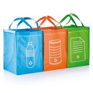 3 poubelles de tri sélectif: amazon.fr: cuisine & maison - Poubelle Cuisine Tri Selectif