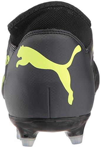 Puma Hommes Avenir 18.4 Fg / Ag Football Chaussure Puma Noir-pétillant Jaune-asphalte