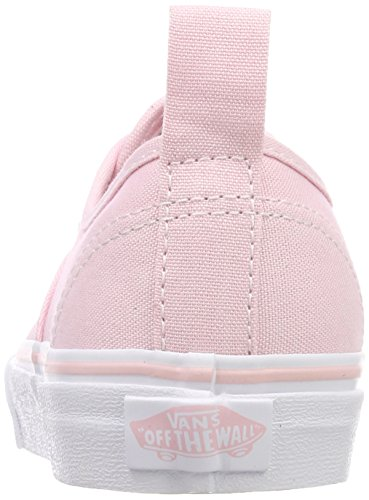 Vans Authentic Elastic Lace, Zapatillas Unisex Niños Rosa (Chalk Pink/true White Q1c)