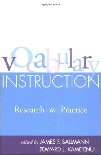 Amazon Vocabulary Instruction Research To Practice Solving