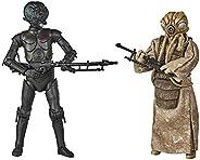 Star Wars The Black Series 4-Lom e Zuckuss - 2 figuras de 15 cm inspiradas no filme Star Wars: O Império Contr
