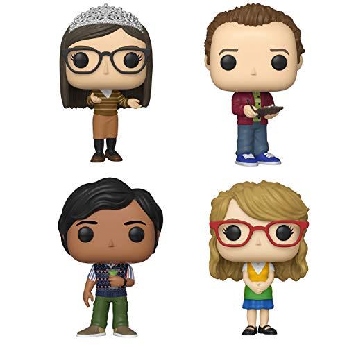 Funko TV: Pop! Big Bang Theory Series 2 Collectors Set 2 - Amy, Stuart, Raj, Bernadette]()