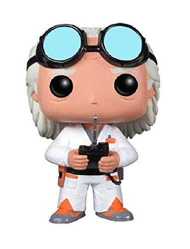 Funko POP Movie Back to The Future Doc Vinyl Figure -