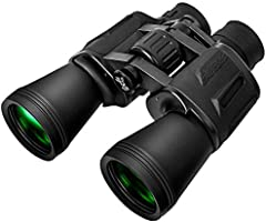 Binoculars for Adults 10 x 50 High Powered for HD Waterproof Zoom, Powerful Binoculars with Clear and Durable BAK-4 Prism...