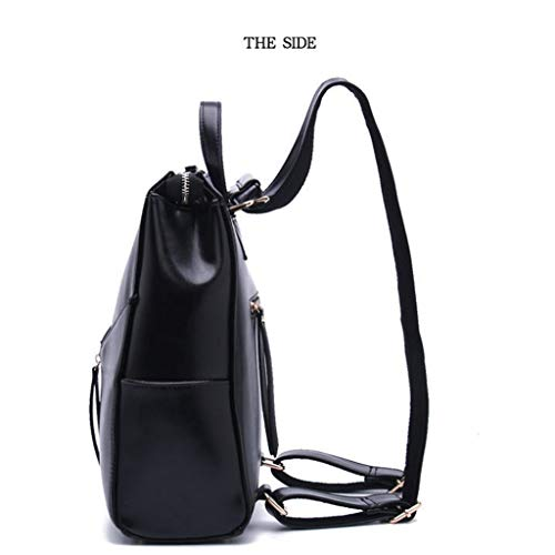 Ss da Leather viaggio Top Womens Borsa Backpack Fashion Simple F1cT3KJl