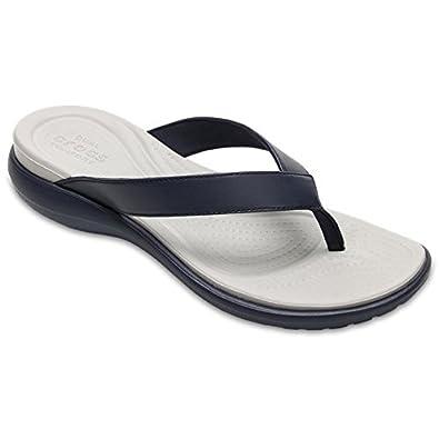 2a8d584f55f Image Unavailable. Image not available for. Colour  Crocs Capri V Flip Women  Flops