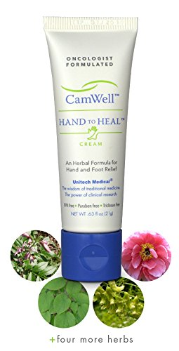 Natural Chemo Gifts Camwell Hand to Heal Cream Oncologist Designed Skin Care for Cancer Patients