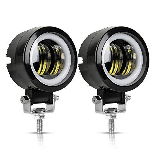 LED Fog Light for Motorcycle Lights White