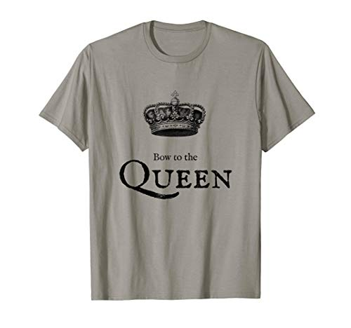 Funny Bow To The Queen Royal Crown T-Shirt