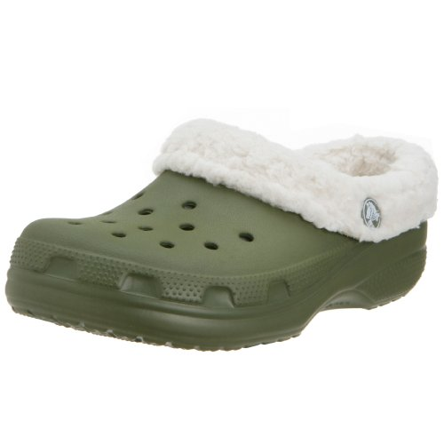 Crocs Mammoth Shoes Army Green Kids Size C6 / C7 by Crocs
