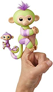 WowWee Fingerlings Baby Monkey & Mini Bffs Billie & Aiden Finger