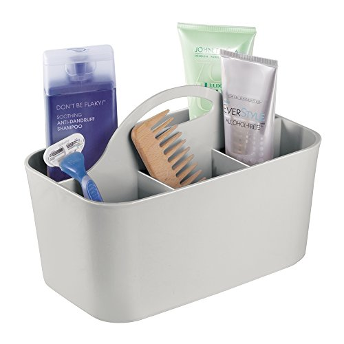 mDesign Bathroom Shower Caddy Tote