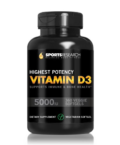 High Potency Vitamin D3 2000iu enhanced with Coconut Oil for Better Absorption Bone Joint and Immune system support Non-GMO amp Gluten Free 360 Mini Liquid Softgels Made in USA Discount