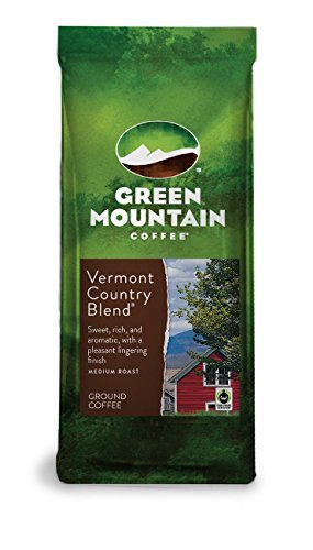 Green Mountain Coffee Signature Vermont Country Blend Ground Coffee 12oz (Pack of ()