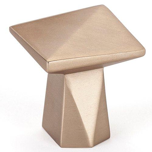 Swagger Square Knob Finish Modern Bronze