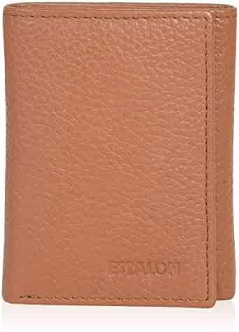 Leather wallets for men- Travel wallet slim wallet mens leather wallet with rfid blocking card wallet