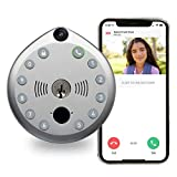 Smart Lock by Gate Labs: WiFi All-in-One Connected Doorbell & Deadbolt   App Enabled, Built-in Camera, Two-Way Talk, Remote Unlock, Live Stream, (Backlit Keyless Entry, Easy Install), Single Lock Set