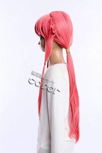 Kawaii-Story W de 392 Future Diary Mirai Nikki Yuno Gasai Rosa 77 cm Cosplay Peluca Wig: Amazon.es: Juguetes y juegos