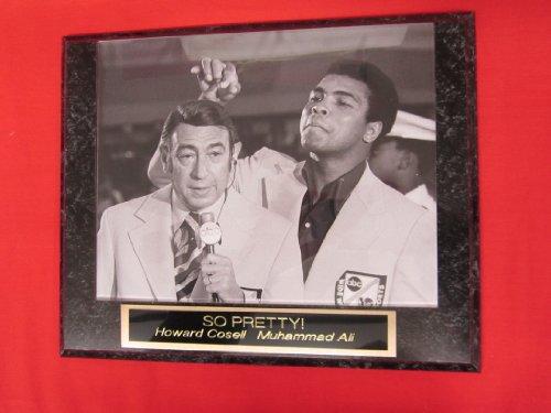 Ali Photo - Muhammad Ali Howard Cosell ABC Sports Collector Plaque w/8x10 RARE Photo