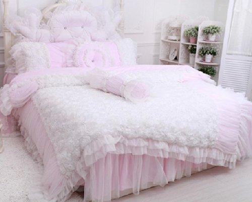 Fadfay Home Textile Beautiful Korean Rose Bedding Sets
