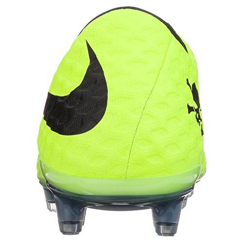 Nike Hypervenom Fantom Fg Herre Fodboldstøvler 599843 Fodboldstøvler Elektro Lilla / Sort // Volt 3LXJl