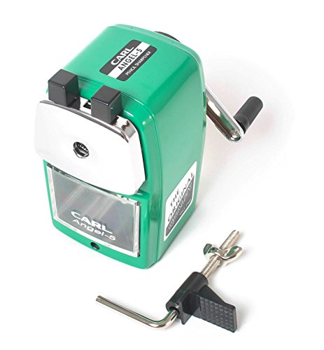 Carl Angel 5 Manual Pencil Sharpener Heavy Duty But Quiet